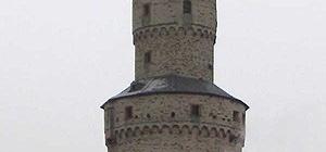 Hexenturm in Idstein, Taunus, DE.
