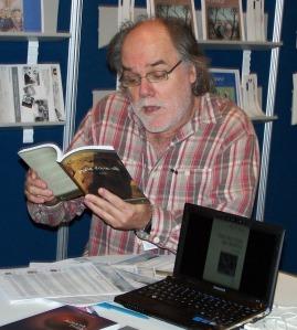Paul Laurendeau au Salon du livre de Montréal, 2010